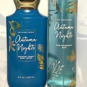 🆕Bath & Body Works Autumn Nights Set